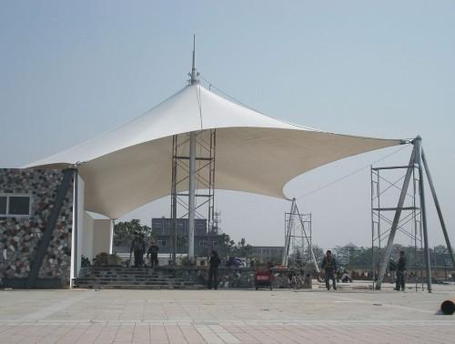 膜结构 专业设计制造景观棚