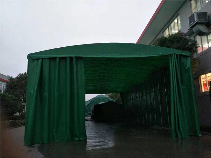 上海临时仓储棚-上海市货运推拉棚制造专家