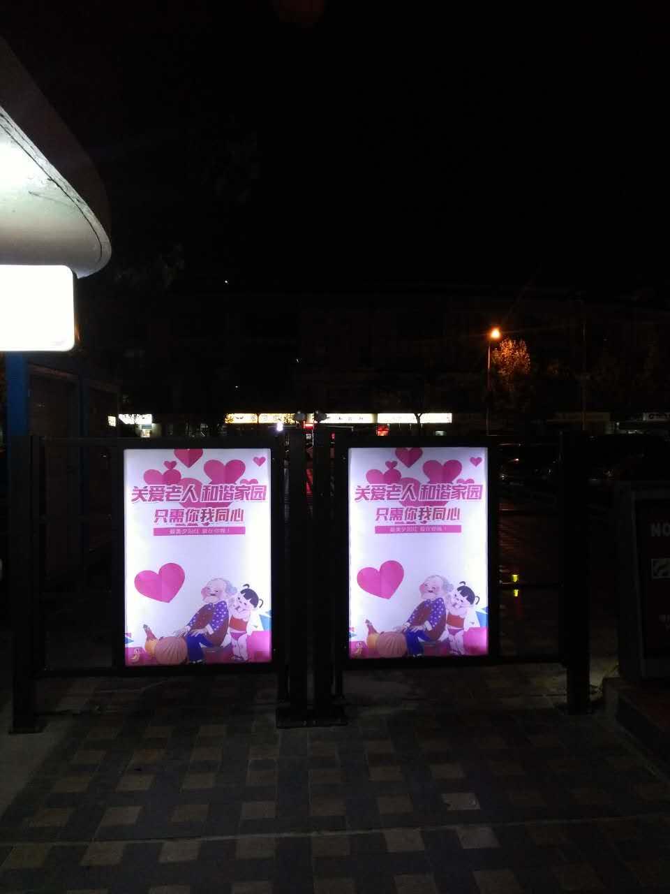 驰安科技出售实用的泰州宿迁人行通道广告门|出售镇江人行通道广告门