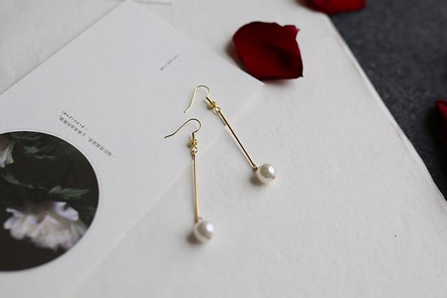 欧美新款个性复古花纹耳环百搭耳饰女珍珠供应商哪家好 耳环