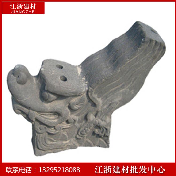 紅板磚供應商_淮安哪有供應口碑好的古建專用正脊