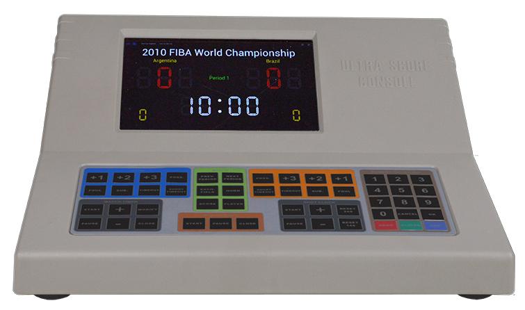 郑州篮球无线打分平板电脑-如何买好用的篮球打分控制台