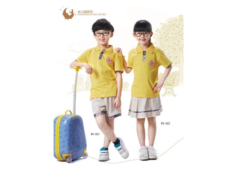 中小学夏季校服订制|泉州高品质夏季校服批发出售