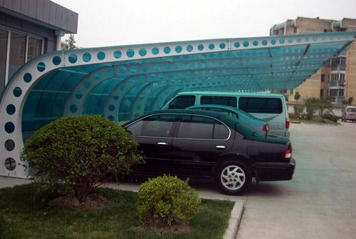 专业定制汽车棚-哪里有提供户外汽车棚