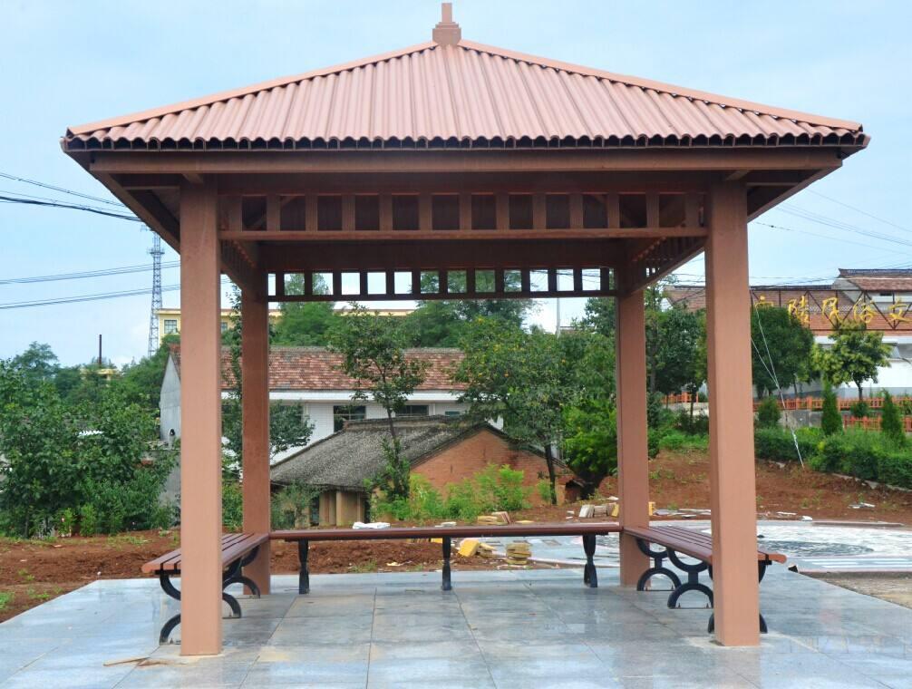 出售东营优良的木塑凉亭——木塑凉亭报价