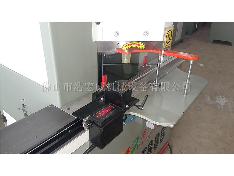 价位合理的广东铝型材切割机厂家-佛山优惠的45度双头切角锯批售