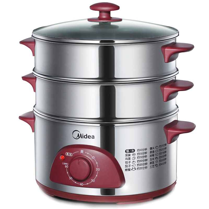 东莞哪里能买到质量好的Midea美的电蒸锅WSYH26A 口碑好的Midea美的电蒸锅WSYH26A