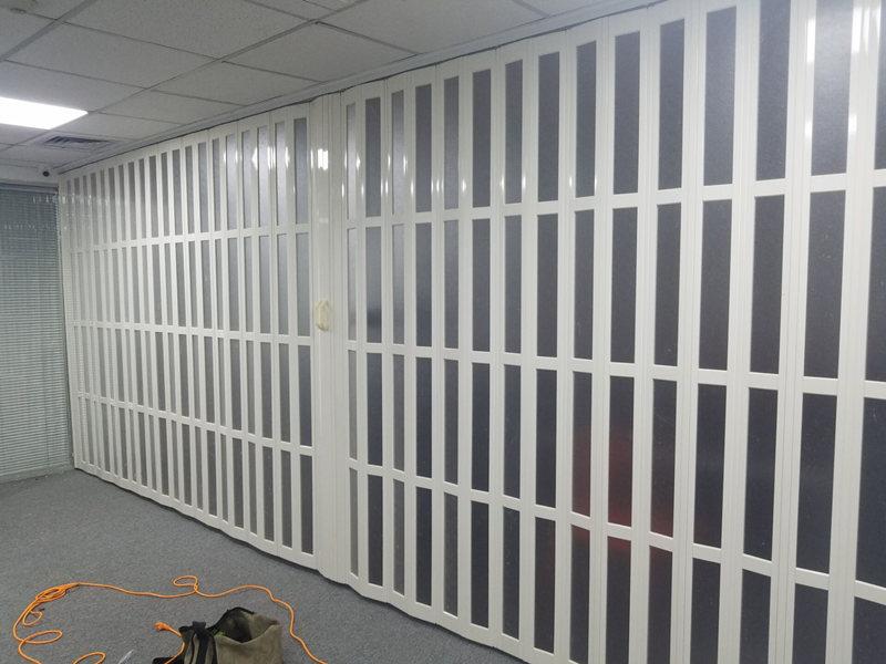 陕西地区具有口碑的PVC折叠门怎么样-PVC折叠门厂家