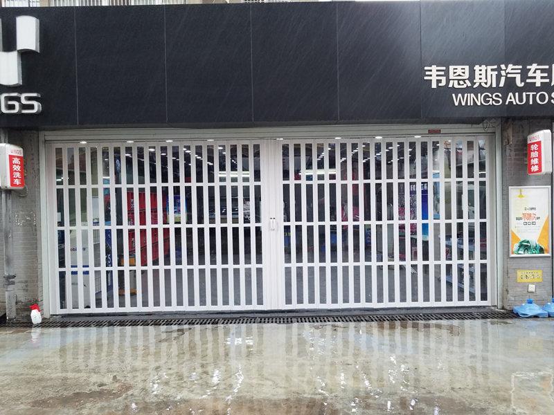 优惠的PVC折叠门德州APP哪个最好门业供应,西安PVC折叠门尺寸