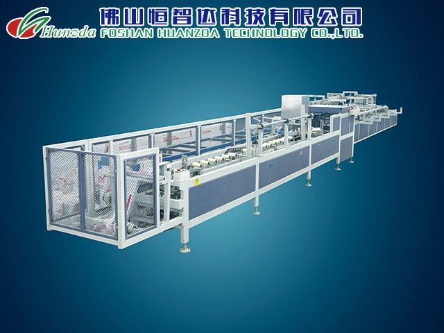 佛山PVC线槽自动包装系统-在哪可以买到PVC线槽在线包装机