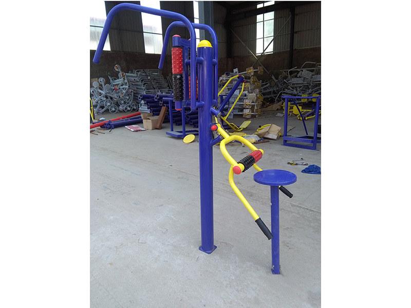 热销室外健身器材太极轮廣場公園小區太極揉推器戶外健身路徑