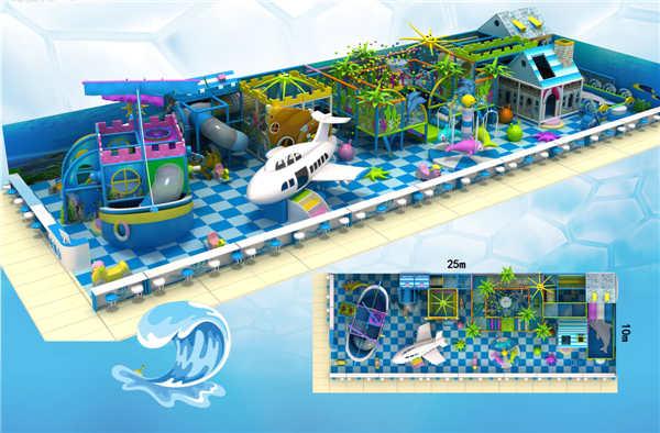 北京点点奇玩具儿童淘气堡海洋系列_放心可靠——规划淘气堡