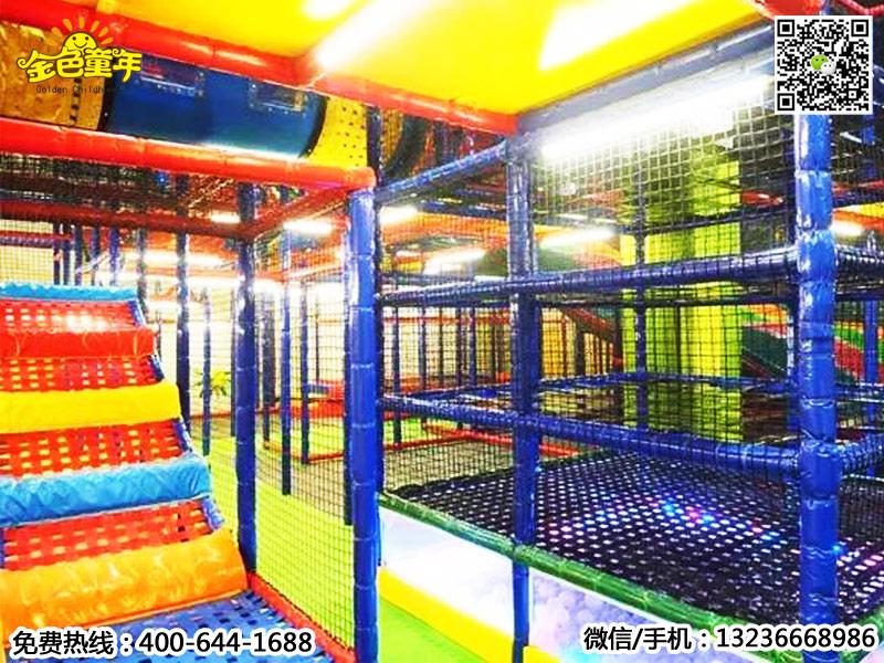 弹性迷宫供应厂家-特色的弹性迷宫淘气堡就在沈阳金色童年游乐玩具