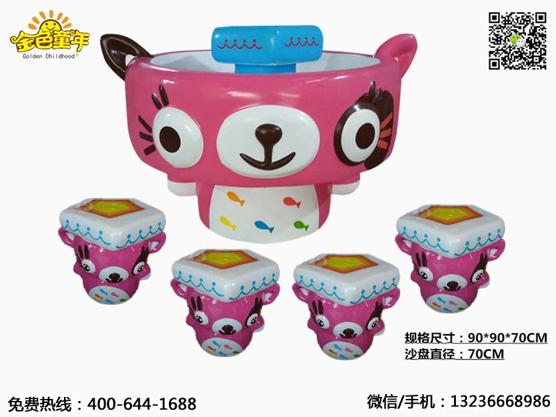 沈阳金色童年游乐玩具销量好的太空沙桌出售,厂家直销的太空沙桌