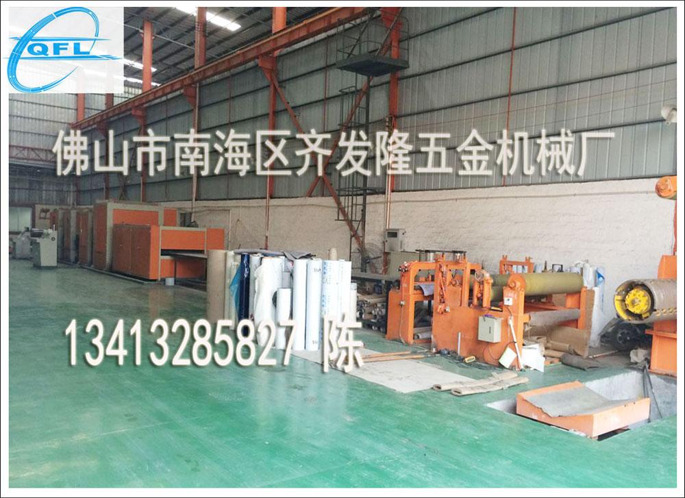 雪花砂机NO4+拉丝机HL组合生产线代理加盟-齐永发机械提供质量好的不锈钢雪花砂机