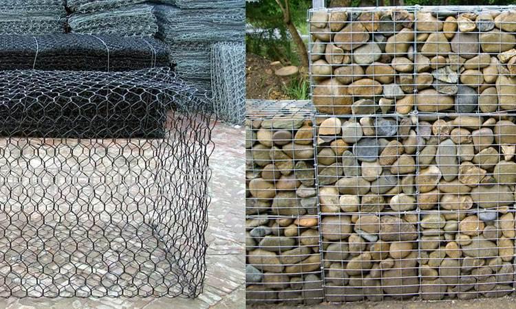 石笼网、格宾网、雷诺护垫、水利工程用网