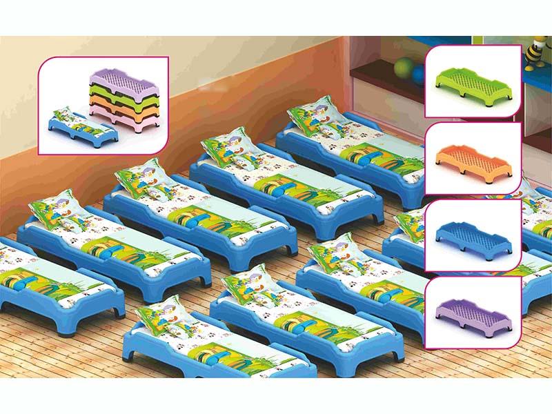 隴南幼兒園跳跳床_蘭州潤揚游樂設施供應有品質的新型注塑膠床