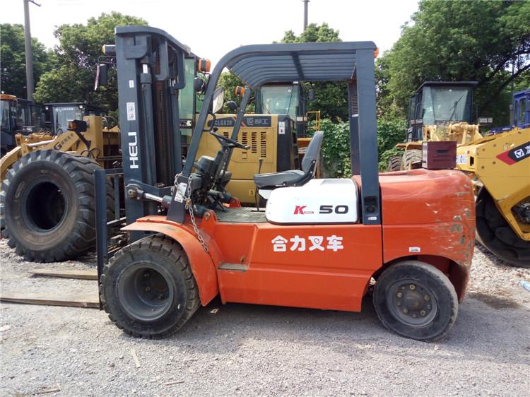 上海二手叉车_二手合力5吨叉车公司上海哪家好