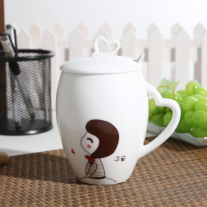 口碑很好的不离不弃陶瓷杯就在永德福家居-广西陶瓷杯