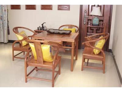 兰州红木茶桌厂家_供应御源林销量好的红木家具