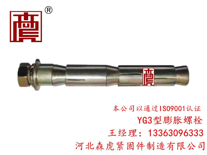 YG3型膨胀螺栓品牌——河北专业的YG3型膨胀螺栓供应商是哪家