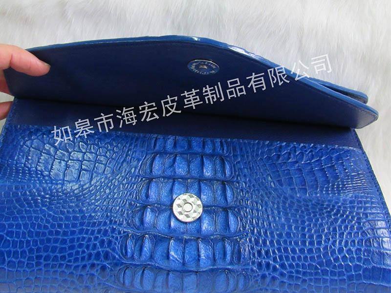鳄鱼皮男包,鳄鱼皮单肩手包公司,推荐如皋市海宏皮革制品