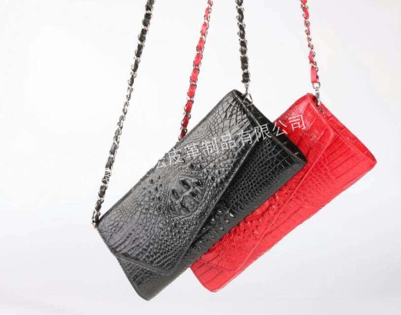 鱷魚皮皮包供應廠家|熱銷南通的高品質鱷魚皮皮包