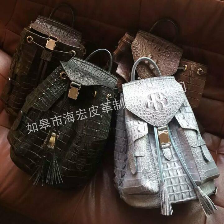 鱷魚皮皮包價格-想要設計新穎的鱷魚皮皮包請鎖定如皋市海宏皮革制品