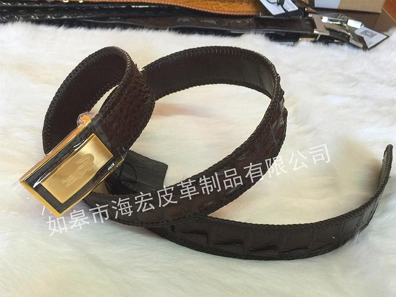鳄鱼皮带怎么样 南通市品牌好的鳄鱼皮腰带批发