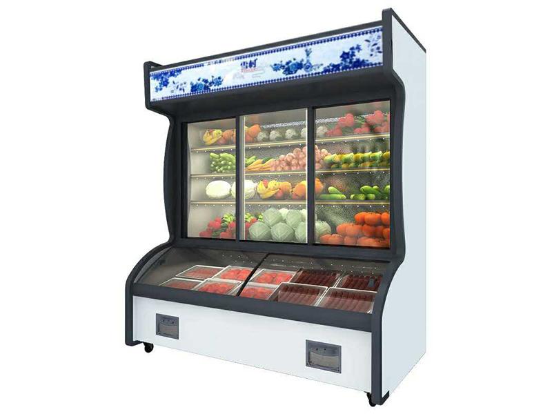 蘭州海鮮柜批發-蘭州銷量好的冷柜-認準蘭州雙贏食品