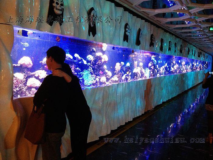 亚克力鱼缸厂家推荐-上海市品牌好的大型亚克力圆柱形鱼缸供应
