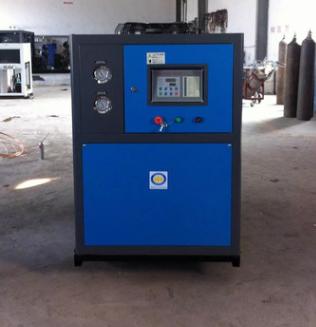 广州格益螺杆式大型风冷化工专用冷水机_选购铝氧化冷水机就到格益制冷