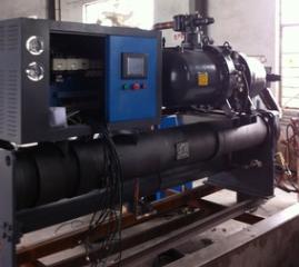 铝氧化冷水机哪家厂家好 恒冠菱涂料搅拌机专用冷水机 图片