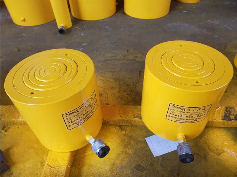 加长双节-浩明液压提供划算的双节千斤顶