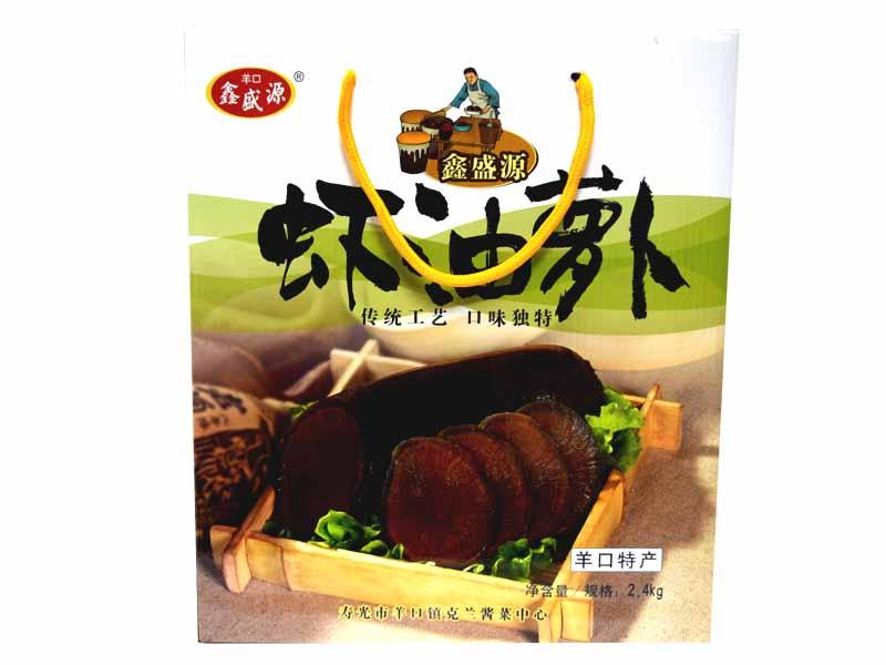 虾油萝卜价格-潍坊划算的虾油萝卜礼盒批售