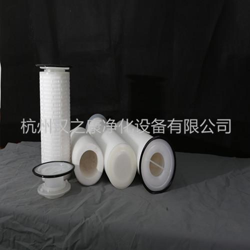 杭州品牌好的大流量聚丙烯折叠滤芯批售_微孔膜折叠滤芯厂家