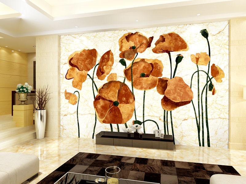 电视背景墙瓷砖尺寸_合格的瓷砖背景墙厂家就是佛山晶睿坊陶瓷