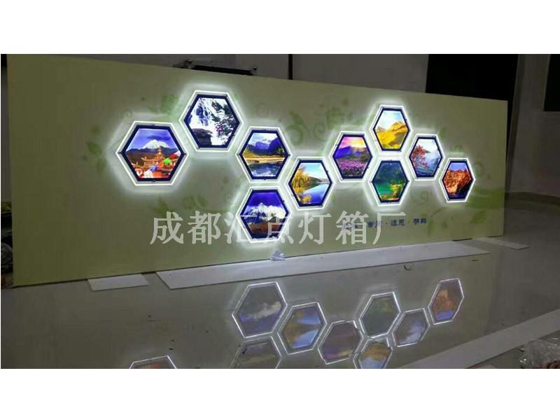 led亚克力灯箱-买水晶灯箱当然找汇点科技