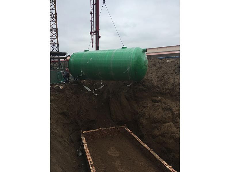 宁夏玻璃钢化粪池安装-规模大的兰州\玻璃钢化粪池厂商推荐