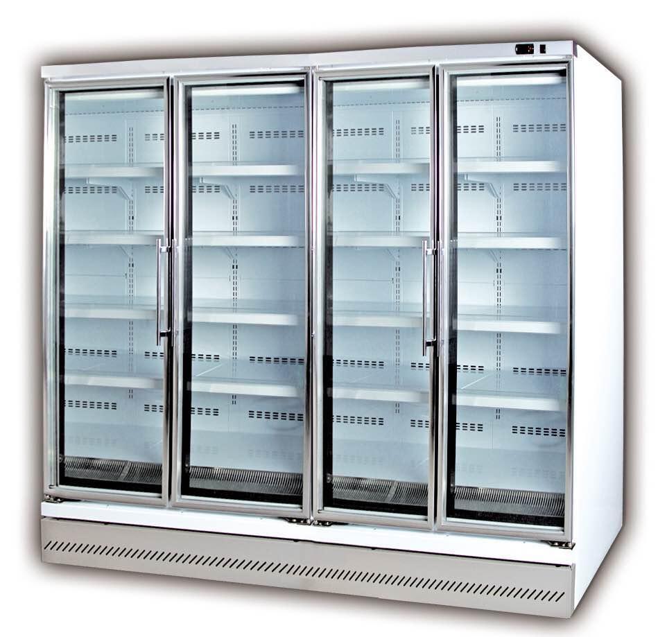 玻璃门冷冻冷藏立柜认准凯达贸易公司——信誉好的玻璃门冷柜