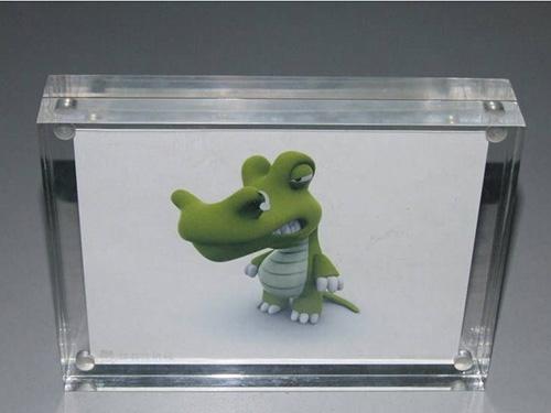 透明亞克力水晶相框價格-出售廣東熱賣亞克力相框展示架