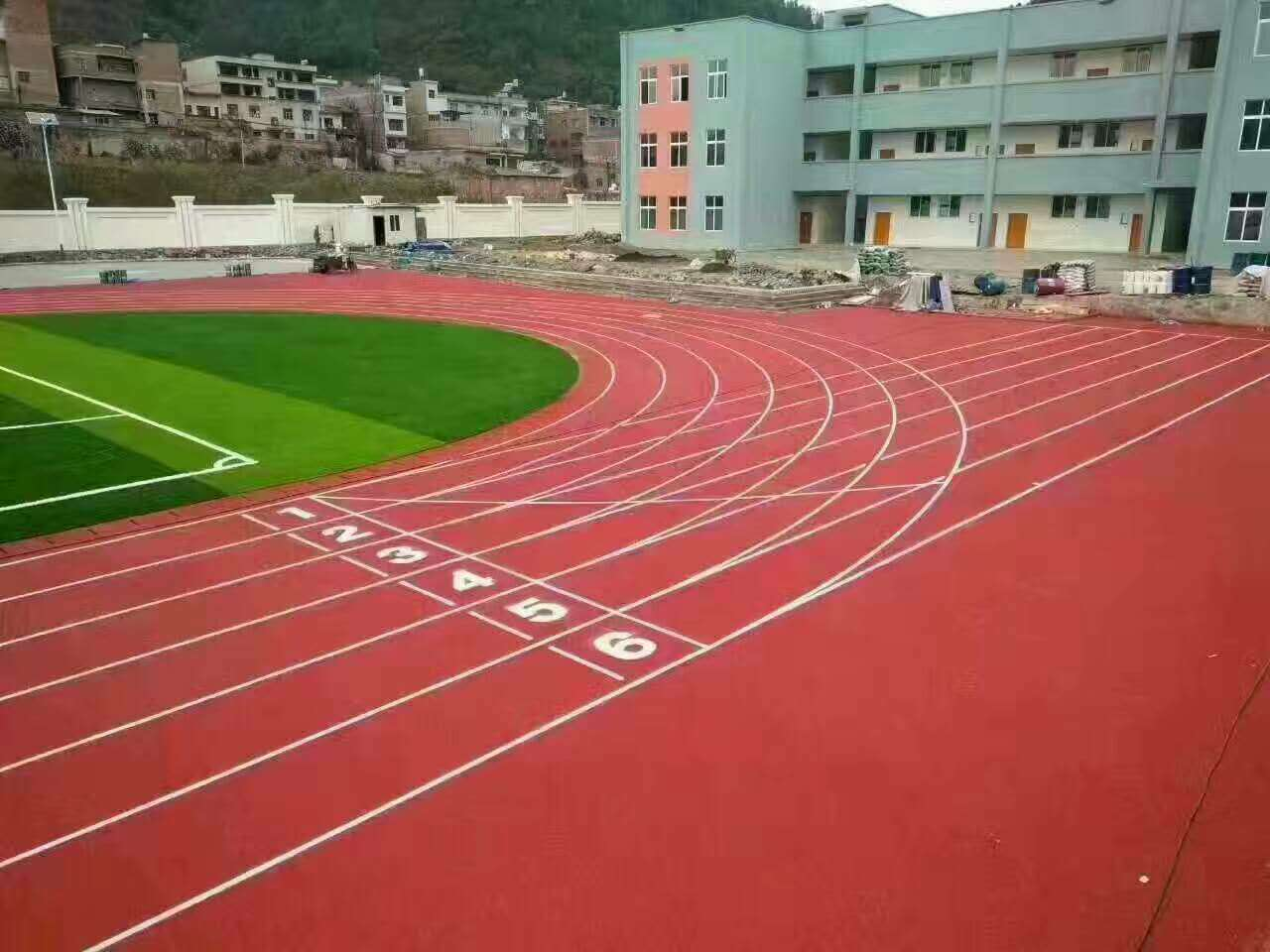 广州博华体育实惠的透气型塑胶跑道批发,epdm塑胶跑道