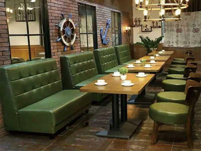 吴忠酒吧卡座沙发定制-银川市哪里能买到卡座沙发