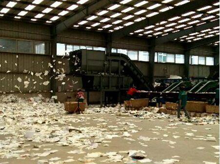 废纸分选加工设备-潍坊高性价废纸分选机出售