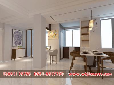 高区样板间设计-有口碑的室内装修设计公司选择威海金诺装饰