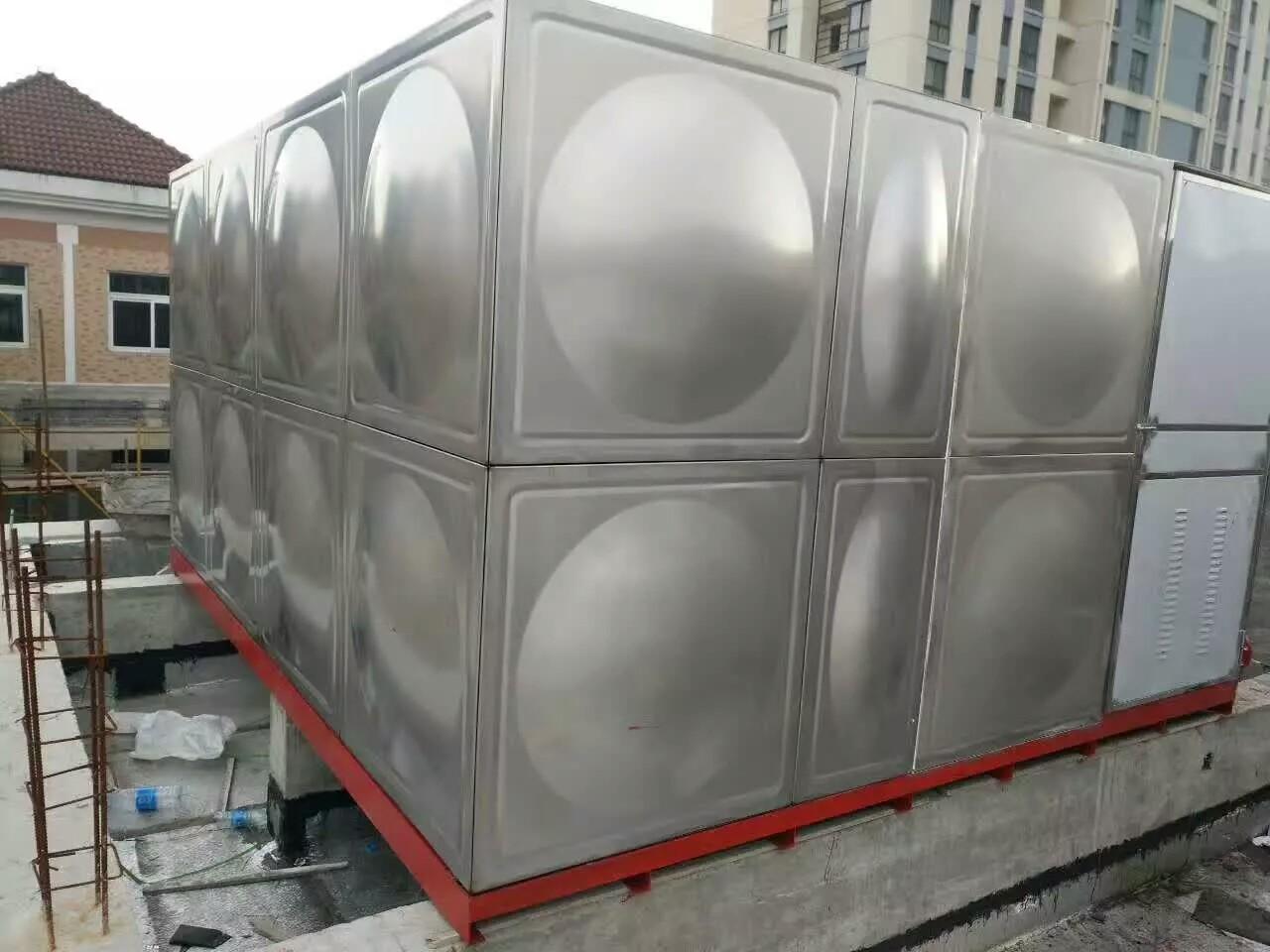 【明天也要一起加油哦!】山东即墨大型不锈钢水箱供应厂家