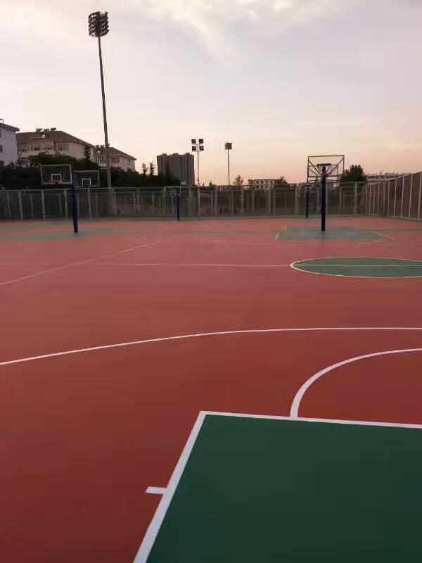 广州优良的硅PU运动场,硅pu材料多少钱