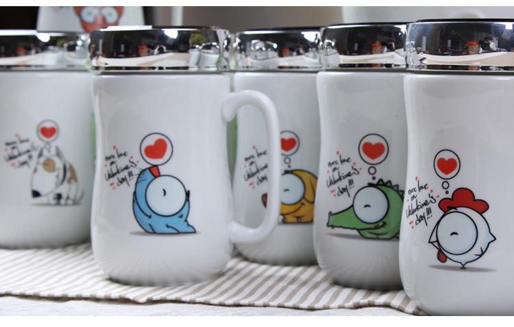 口碑好的永德福镜面陶瓷杯哪里买 杯子LOGO定制
