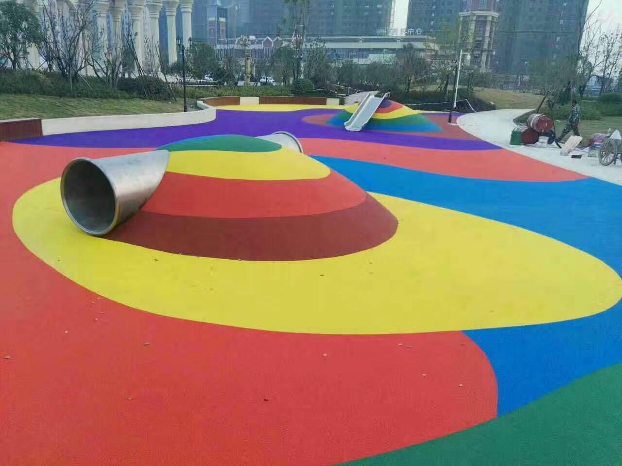 EPDM塑胶球场特点 想买满意的EPDM塑胶球场就到广州博华体育