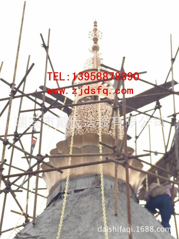 供应温州优惠的铜塔刹-优惠的镂空铜塔刹